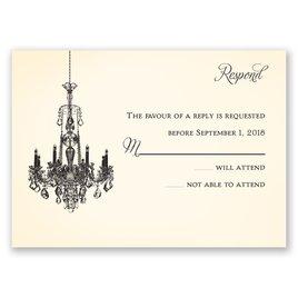 Ballroom Beauty - Response Card
