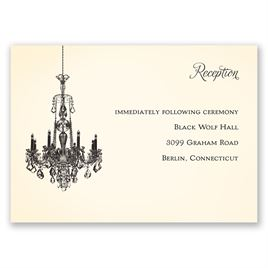 Ballroom Beauty - Reception Card