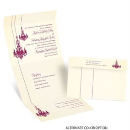 Ballroom Beauty - Seal and Send Invitation
