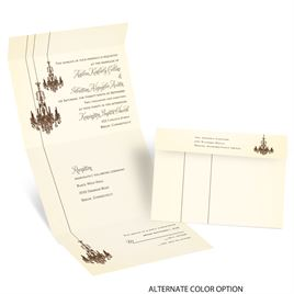 Ballroom Beauty - Seal and Send Invitation