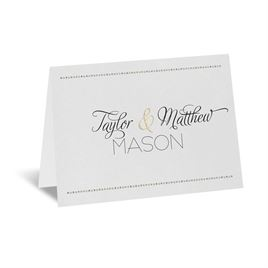 Infinite Glam - Thank You Card