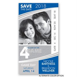 Basketball - Save the Date Card
