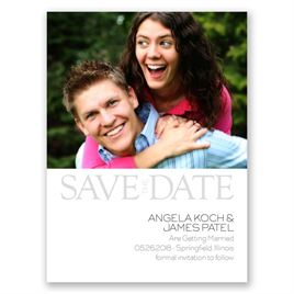 Modern Marvel - Save the Date Card