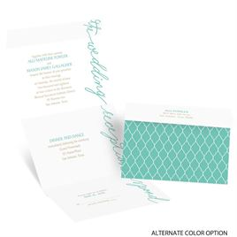 Pure Sophistication - Seal and Send Invitation