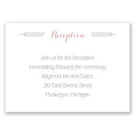 Distinct Style - Reception Card