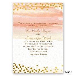 Watercolor Love - Invitation