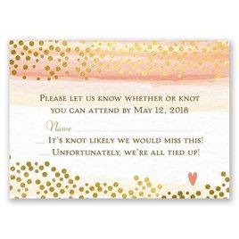 Watercolor Love - Response Card