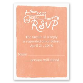 Cordially Invited - Response Card