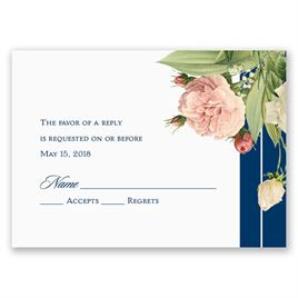 Brilliant Blooms - Response Card
