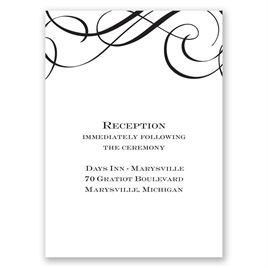 Special Event - Reception Card