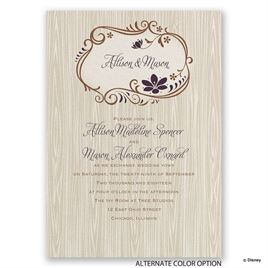 Disney - Natural Beauty Invitation - Anna