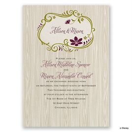 Lime Wedding Invitations: 