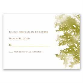 Growing in Love - White - Response Card