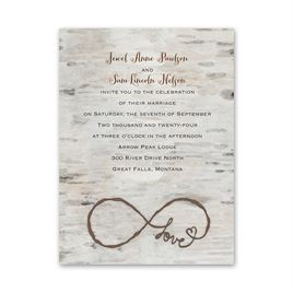 Love for Infinity - Petite Invitation