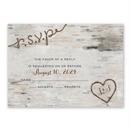 Love for Infinity - Response Card