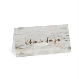Wedding Place Cards: Love for Infinity Place Card