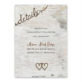 Wedding Reception Cards Love For Infinity Card
