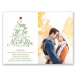 Save The Dates: Top The Tree Holiday Card Save The Date