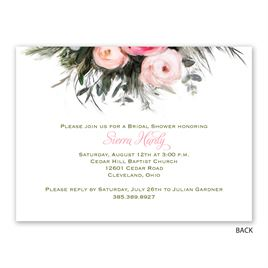 Ethereal Garden - Petite Bridal Shower Invitation