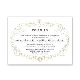 Petite Wedding Invitations: Sweet Sophistication Petite Invitation