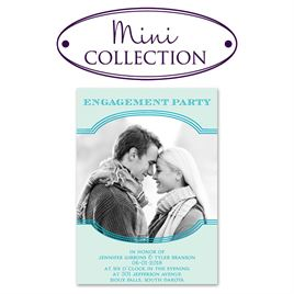 Engagement Party Invitations: Perfection Mini Engagement Party Invitation
