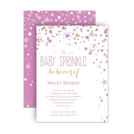 Baby sprinkle invitations invitations by dawn baby sprinkle invitations bright sprinkles petite baby shower invitation filmwisefo