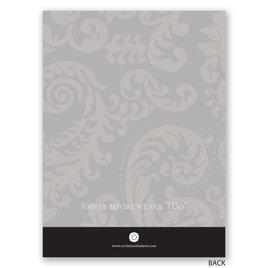 Modern Silhouettes - Petite Wedding Shower Invitation