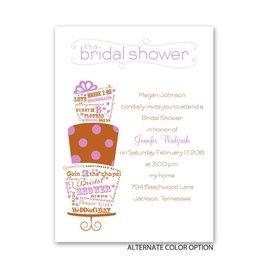 Best Cake Ever - Petite Bridal Shower Invitation