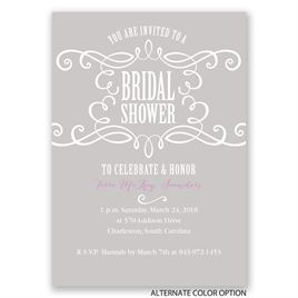 Fab Flourish - Bridal Shower Invitation