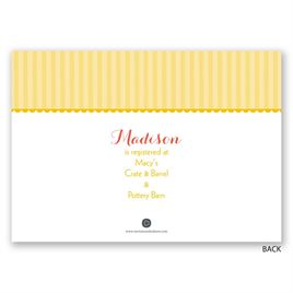 Love Is Sweet - Bridal Shower Invitation