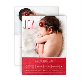 Christmas Birth Announcements: 