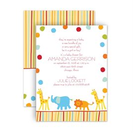 Jungle Theme Baby Shower Invitations Invitations By Dawn