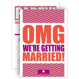 Engagement Party Invitations: OMG Engagement Party Invitation