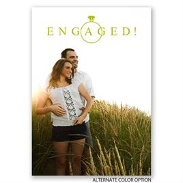 Contemporary Style - Engagement Announcement