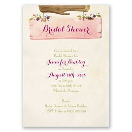 Vintage Love - Bridal Shower Invitation