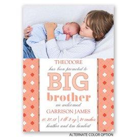 Big Bro Promotion - Mini Birth Announcement