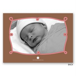 Little Cowgirl - Birth Announcement