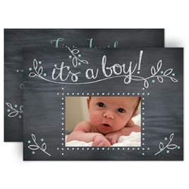 baby boy birth announcements