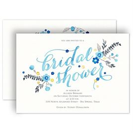 heart and whimsy bridal shower invitation
