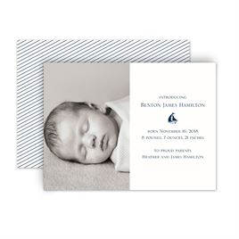 Baby Boy Birth Announcements: 