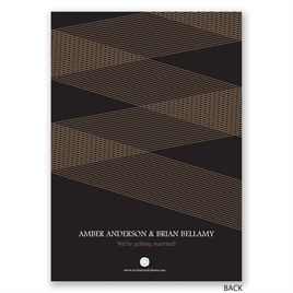 Modern Lines - Engagement Party Invitation