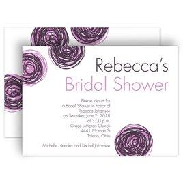 Bridal Shower Invitations: Mod Floral Bridal Shower Invitation