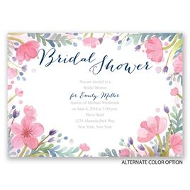 Pastel Floral - Bridal Shower Invitation