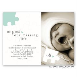 The Missing Piece - Petite Adoption Announcement