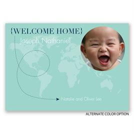 Welcome Home - Adoption Announcement