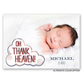 Heaven Sent - Birth Announcement