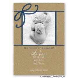 Precious Gift - Birth Announcement
