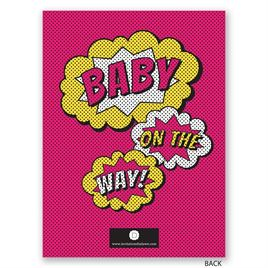 Comical - Petite Baby Shower Invitation