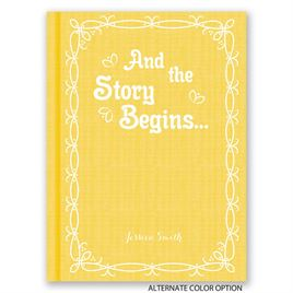 The Story Begins - Petite Baby Shower Invitation