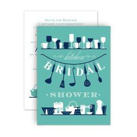 Bridal Shower Invitations: Kitchen Gadgets Petite Bridal Shower Invitation
